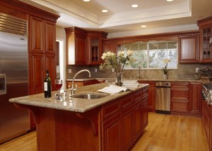 Custom Cherry Kitchen in Ottawa