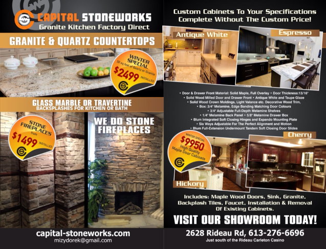 Special Offer Capital Stoneworks