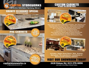 Special on Counters and Cabinets